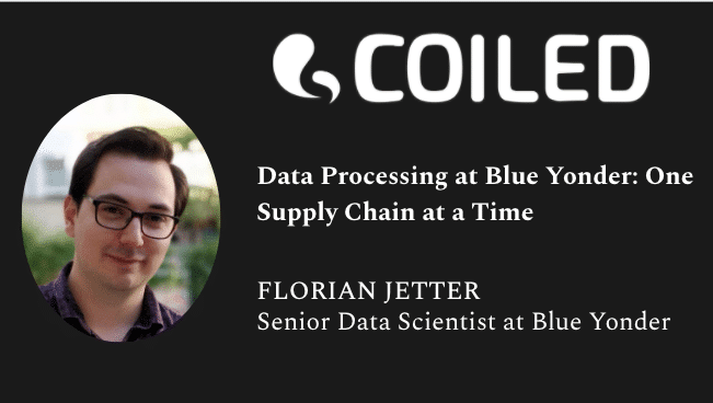 Florian Jetter, Sr Data Scientist at Blue Yonder, joins Matt Rocklin and Hugo Bowne-Anderson to discuss supply chain analytics at scale.